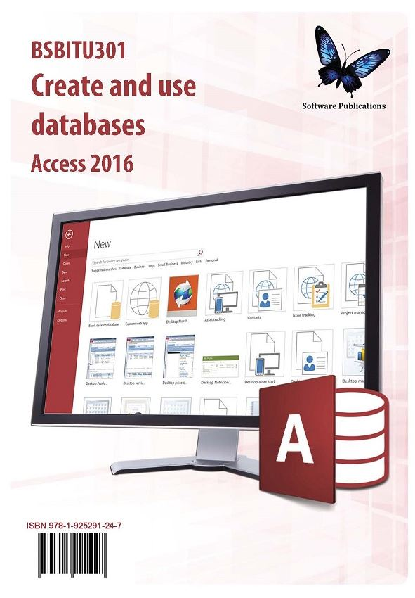 Create and Use Databases Access 2016