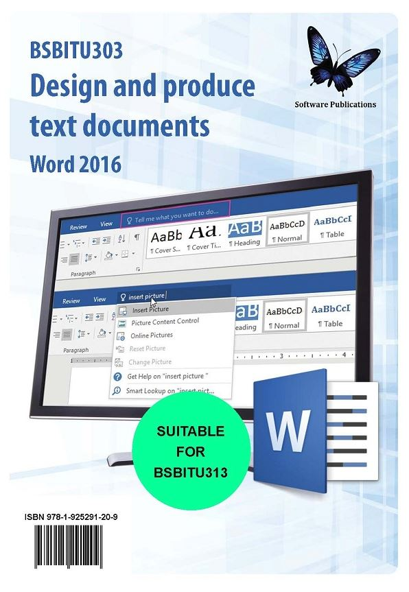 Design and Produce Text Documents Word 2016