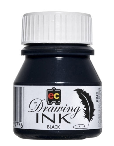 Drawing Ink Black EC 30ml