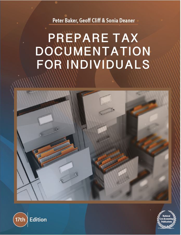 Prepare tax Documentation for Individuals 17th ed