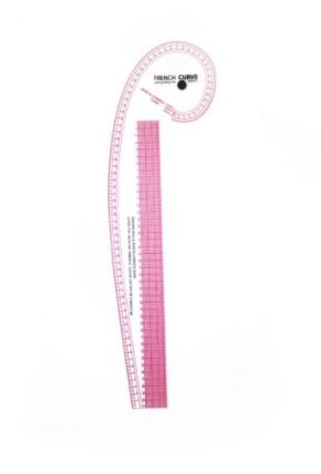 Ruler Metric French Curve