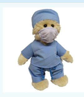 Nurse Bear Tic Toc Teddies 30cm