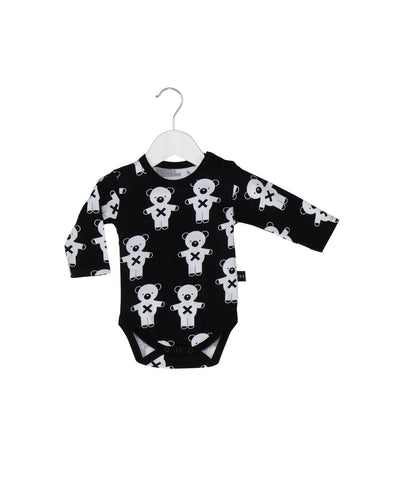 Hux Baby Soldiers Bear Long Sleeve Onesie