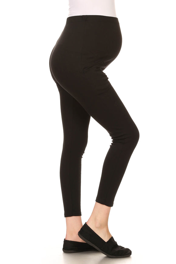 Ladies Maternity Legging with Elastic Waistband