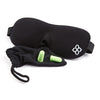 Black Bamboo & Cotton Bedtime Bliss® Contoured & Comfortable Sleep Mask