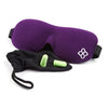Purple Bamboo & Cotton Bedtime Bliss® Contoured & Comfortable Sleep Mask