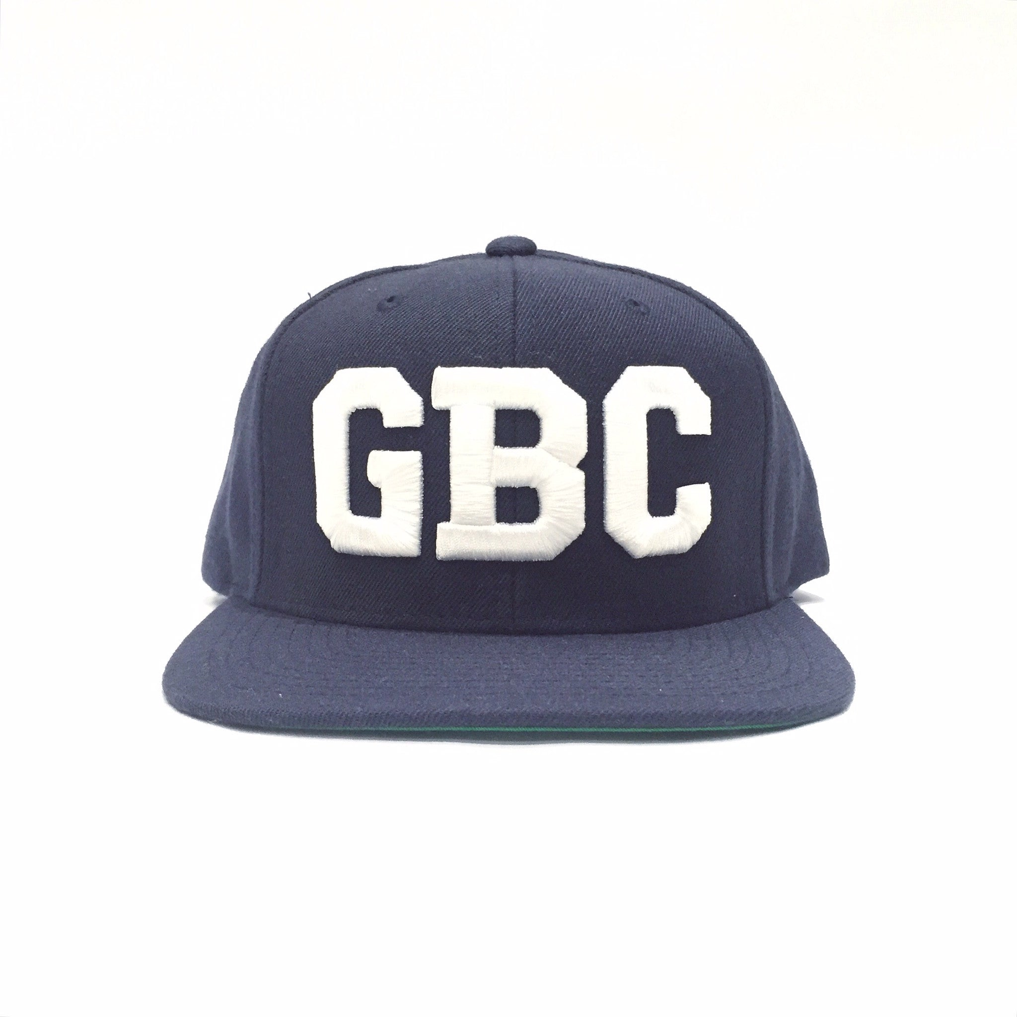 "Guy Benson Collection ""GBC"" SnapBack Hat - Navy Blue/White"