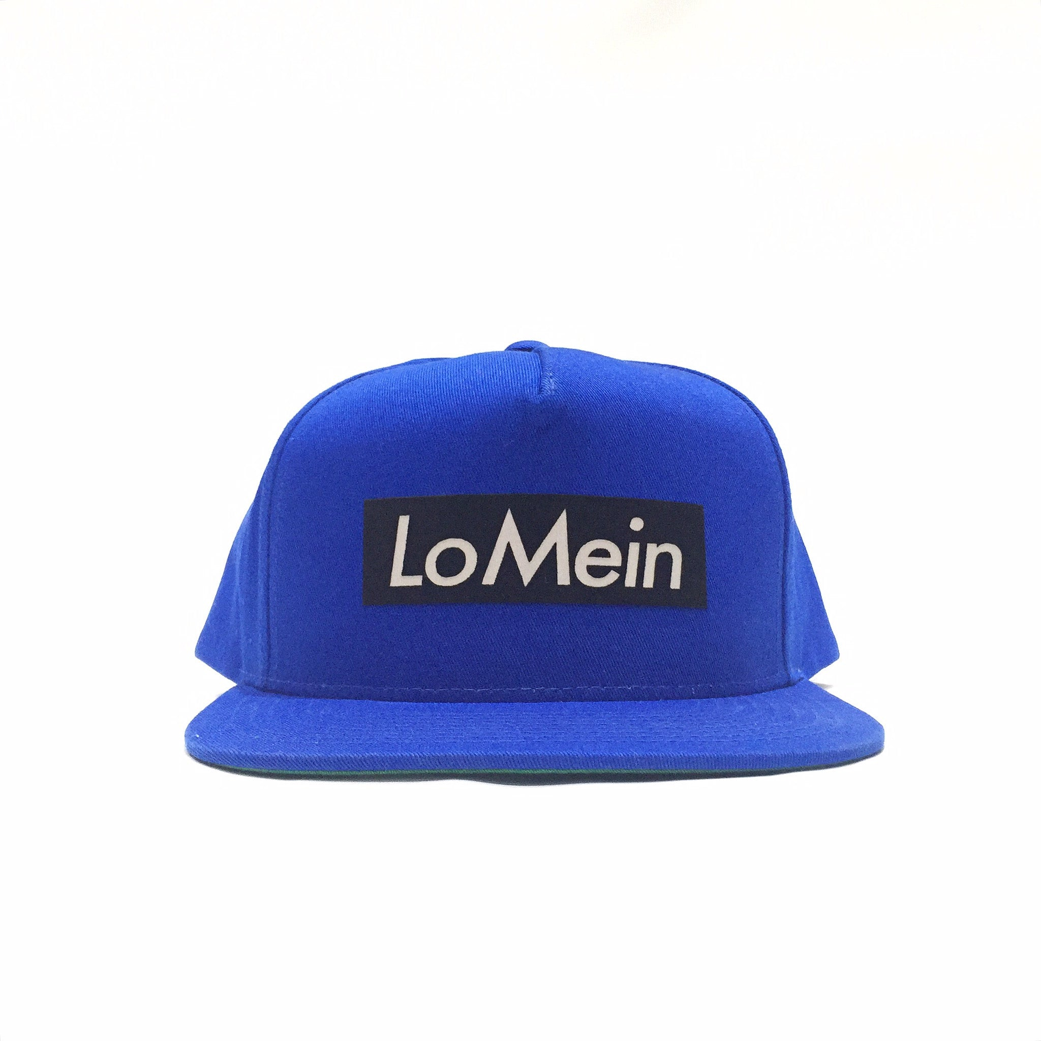 Lo Mein Collection 3M Reflective 5 Panel SnapBack Hat - Royal Blue