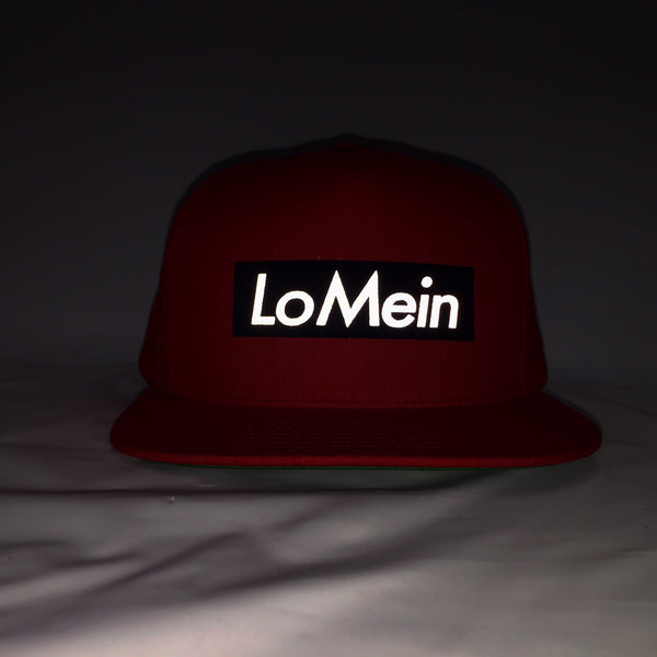 56d2d86626a Lo Mein Collection 3M Reflective 5 Panel SnapBack Hat - Black – GBC ...