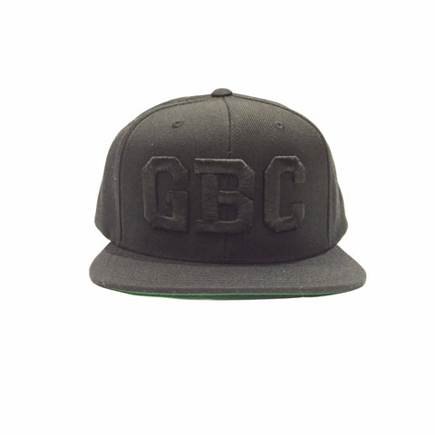 "Guy Benson Collection ""GBC"" SnapBack Hat - Black/Black"
