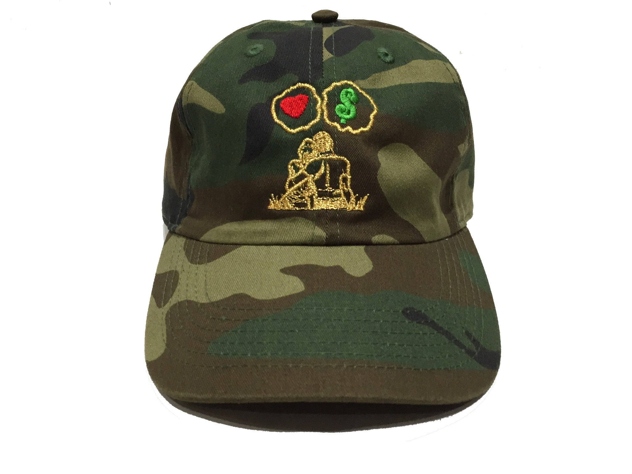 Guy Benson Collection Love Vs Money Dad Hat -Camo