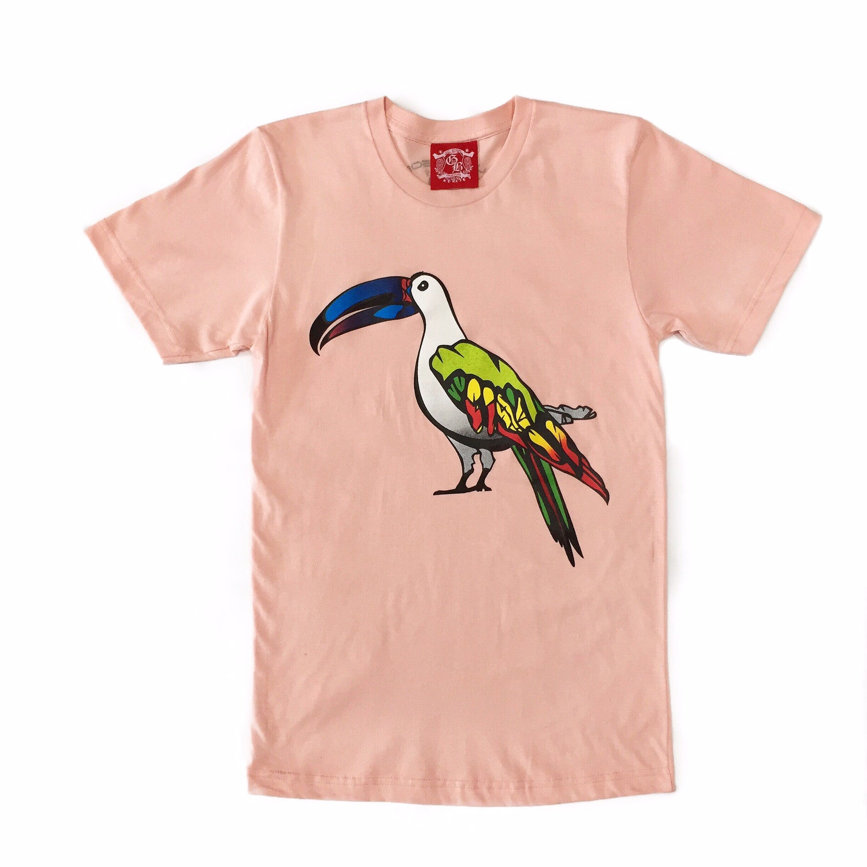 Guy Benson Collection Exotic Bird Tee - Peach