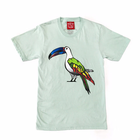 Guy Benson Collection Exotic Bird Tee - Sea Foam