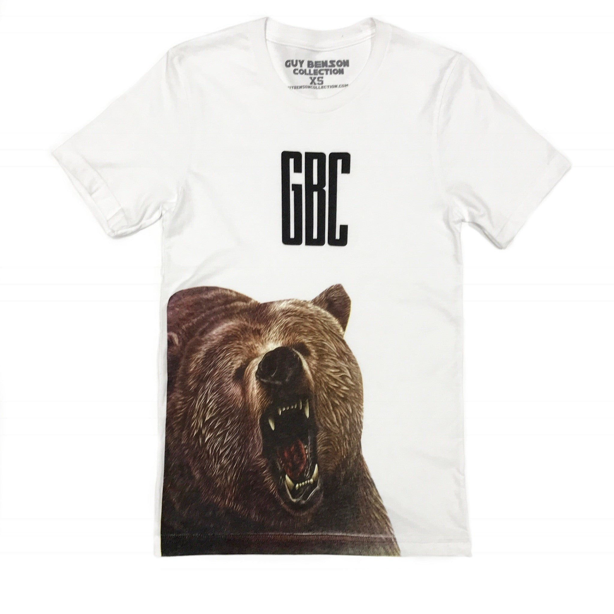 Guy Benson Collection Bear Tee - White