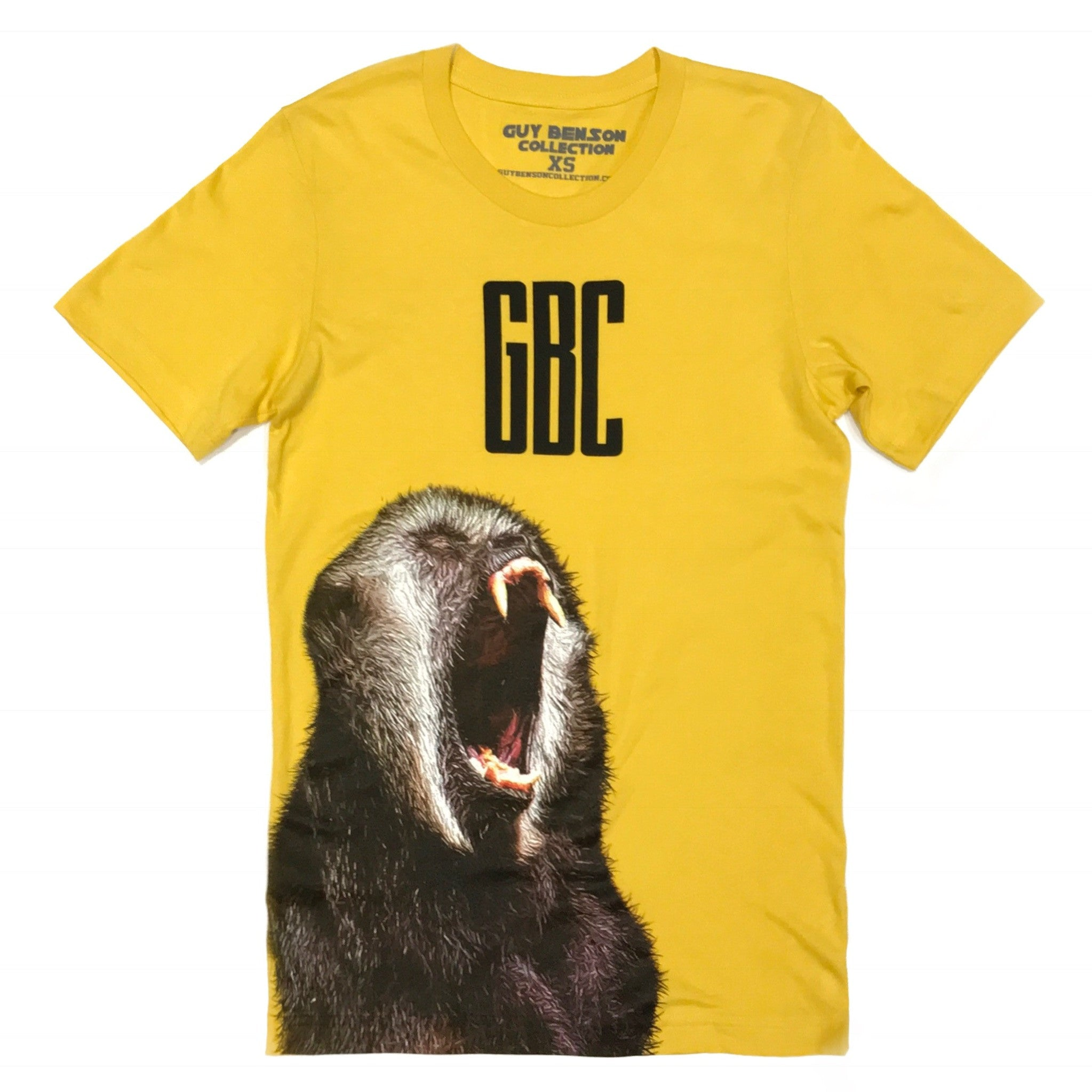 Guy Benson Collection Ape Tee - Yellow