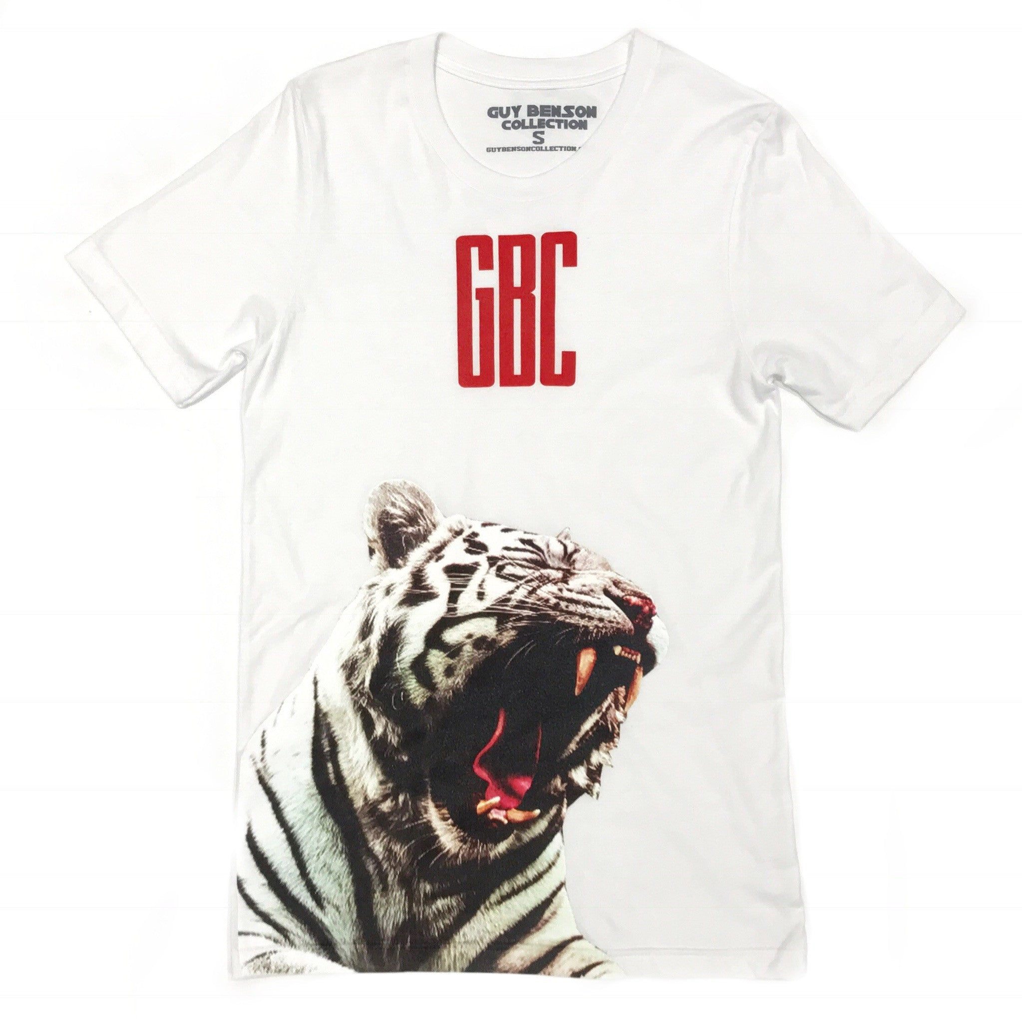 Guy Benson Collection White Tiger Tee - White