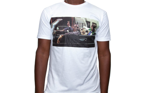 "365 Clothing ""Come Up"" T-shirt -White"
