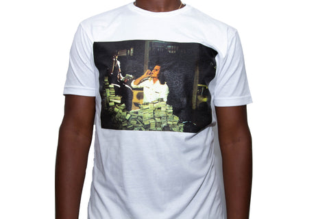 "365 Clothing ""Blow"" T-shirt -White"