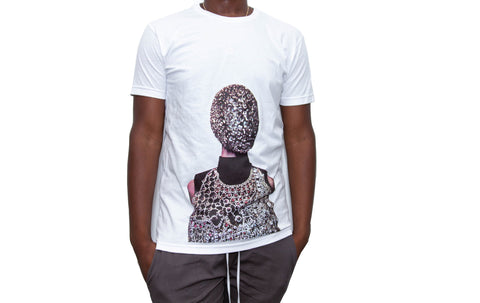 "365 Clothing ""Masked"" T-shirt -White"