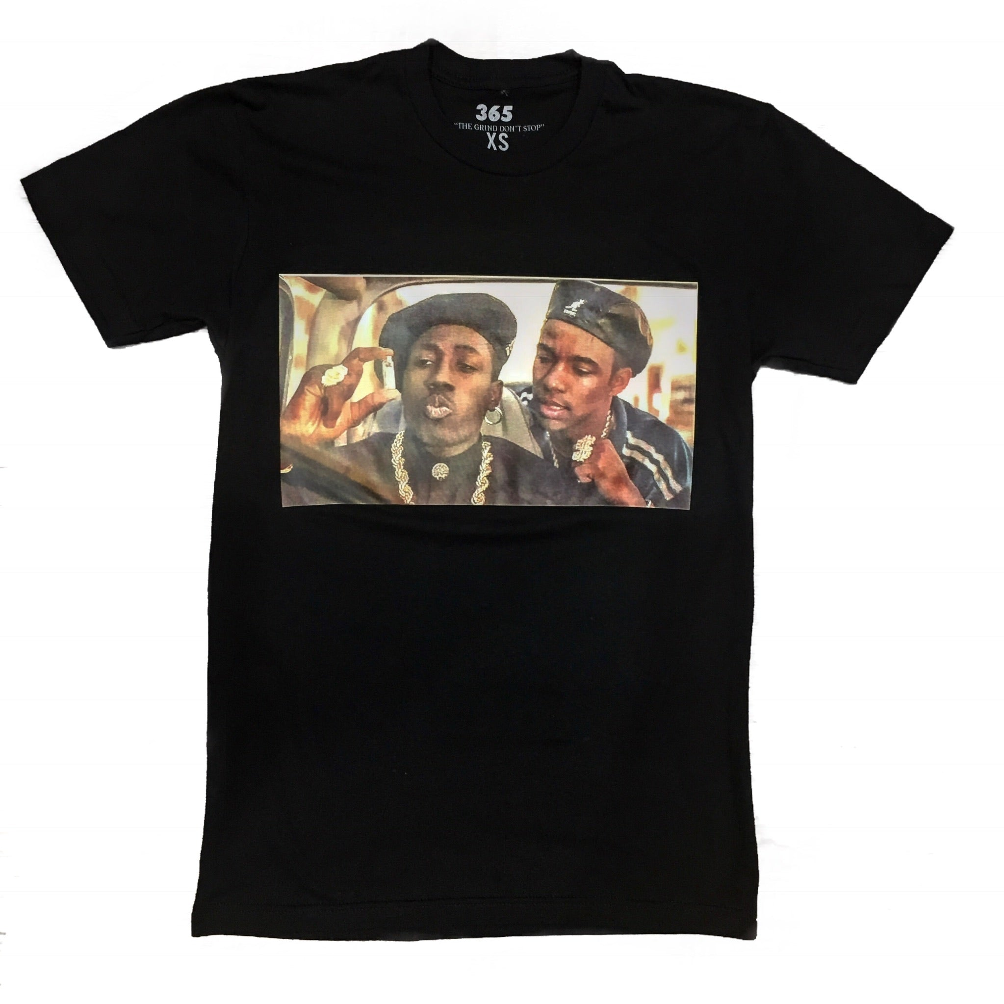 "365 Clothing ""Nino & G Money"" Tee -Black"