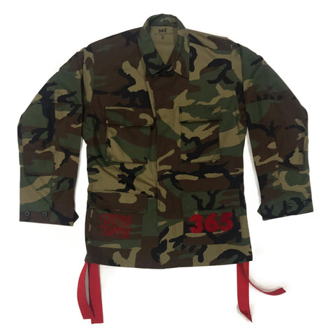 365 Clothing Forever Trappin Camo Jacket