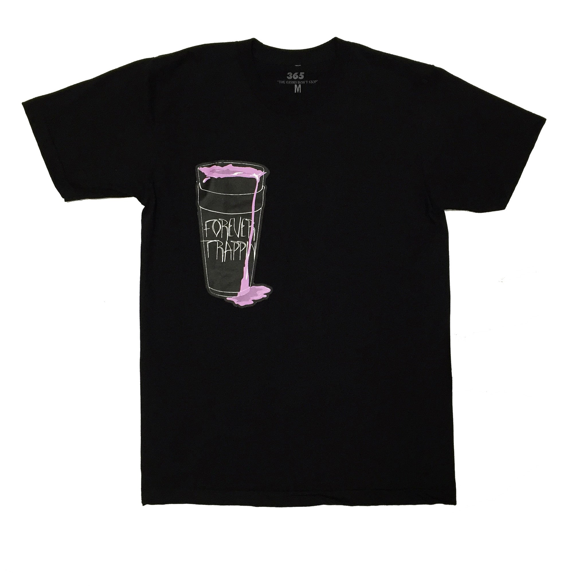 365 Clothing Forever Trappin/Dirty Soda Tee - Black