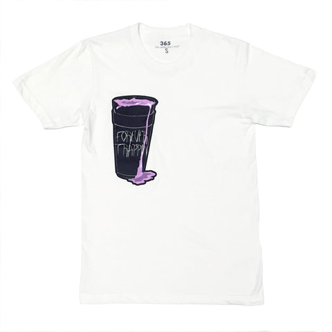 365 Clothing Forever Trappin/Dirty Soda Tee - White
