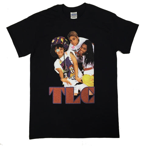 Vintage HipHop TLC Tee - Black