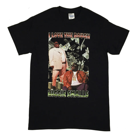 Vintage HipHop Biggie Tee - Black