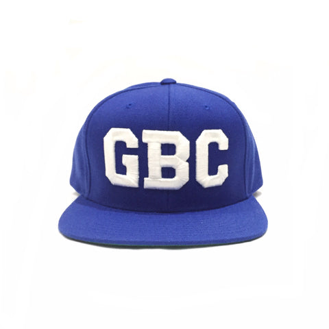 "Guy Benson Collection ""GBC"" SnapBack Hat - Royal Blue/White"