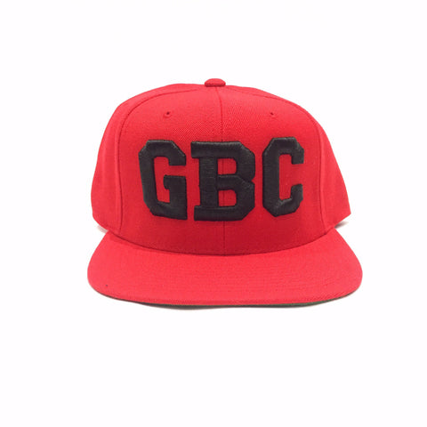 "Guy Benson Collection ""GBC"" SnapBack Hat - Red/Black"