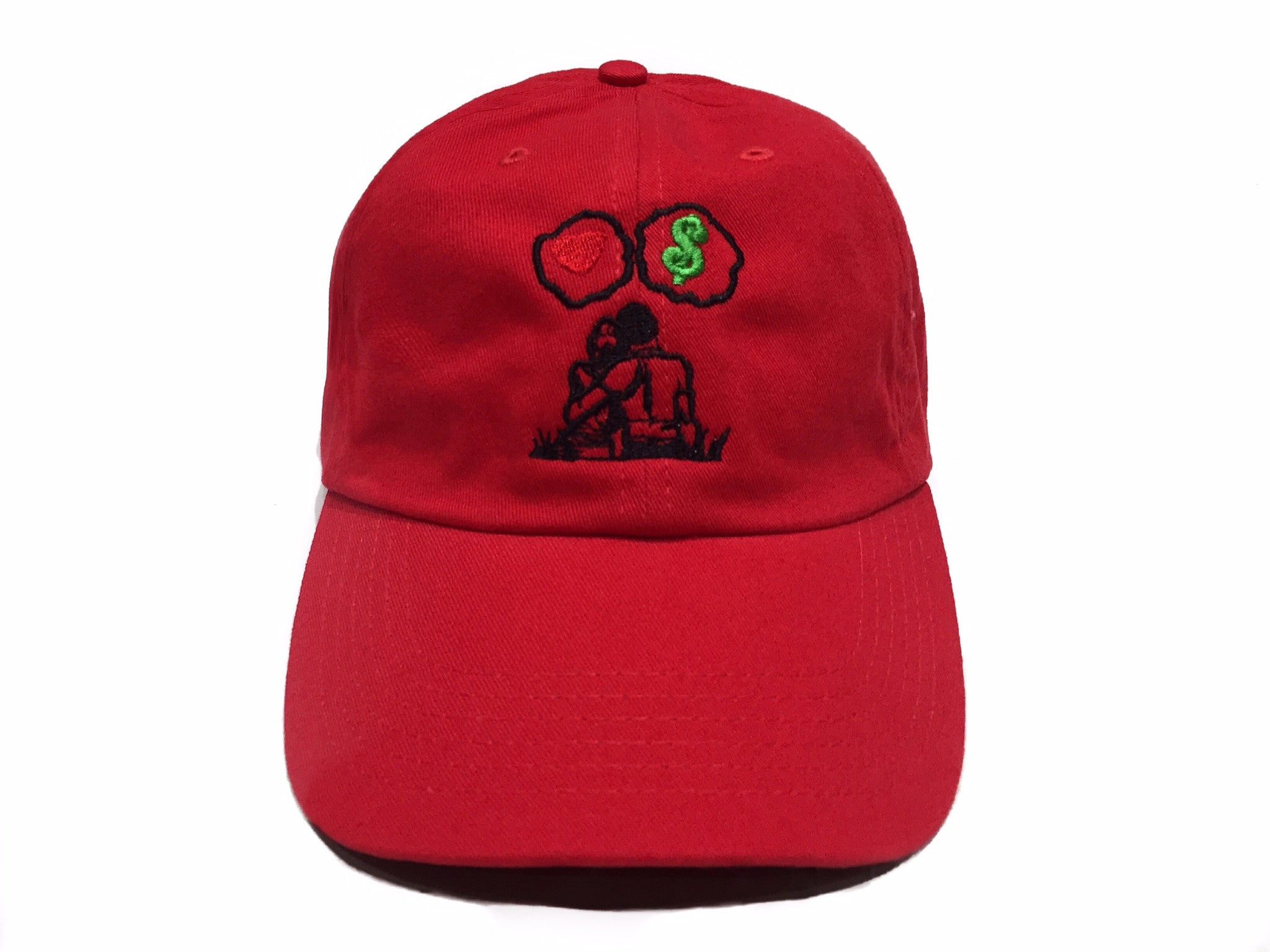 Guy Benson Collection Love Vs Money Dad Hat - Red