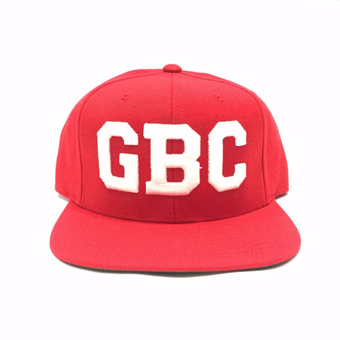 "Guy Benson Collection ""GBC"" SnapBack Hat - Red/White"