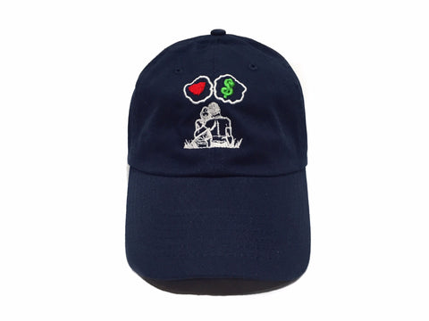 Guy Benson Collection Love Vs Money Dad Hat - Navy Blue