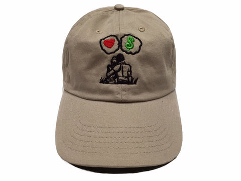 Guy Benson Collection Love Vs Money Dad Hat - Khaki