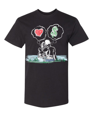 Guy Benson Collection Love Vs Money - Black