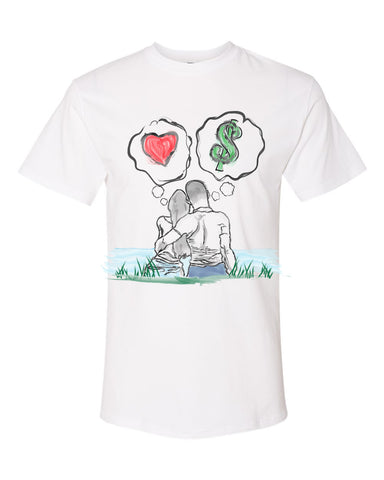 Guy Benson Collection Love Vs Money - White