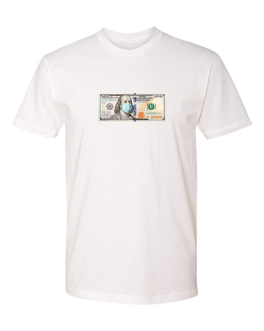 Pandemic New Money Tee - White