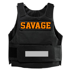 "365 Clothing ""Savage"" Embroidery Patch Vest"