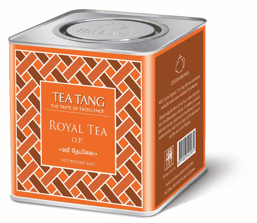 Royal Tea OP 100g Can