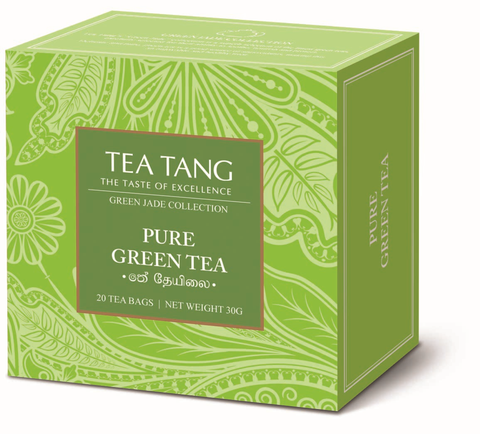 Pure Green Tea 20x1.5g Tea Bag Carton