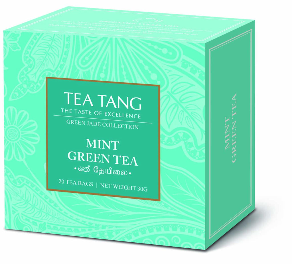 Mint Green Tea 20x1.5g Tea Bag Carton