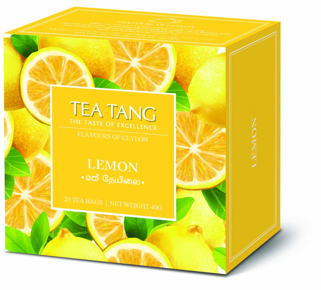 Lemon Tea 20x1.5g Tea Bag Carton