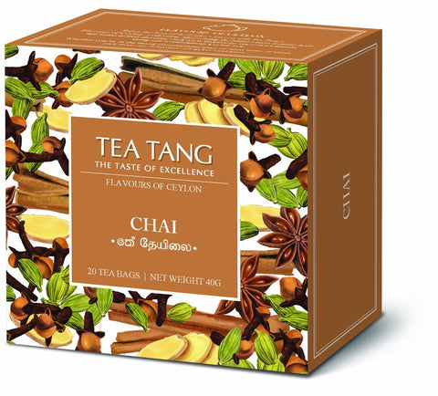 Chai Tea 20x1.5g Tea Bag Carton