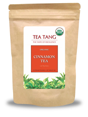 Organic Cinnamon Tea 24x2g Pyramid Tea Bag