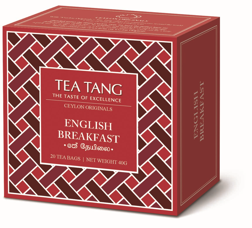English Breakfast Tea 20x2g Tea Bag Carton