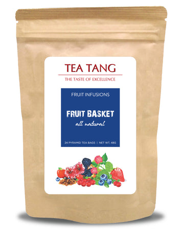 Fruit Basket 24x2g Pyramid Tea Bag - Caffeine Free