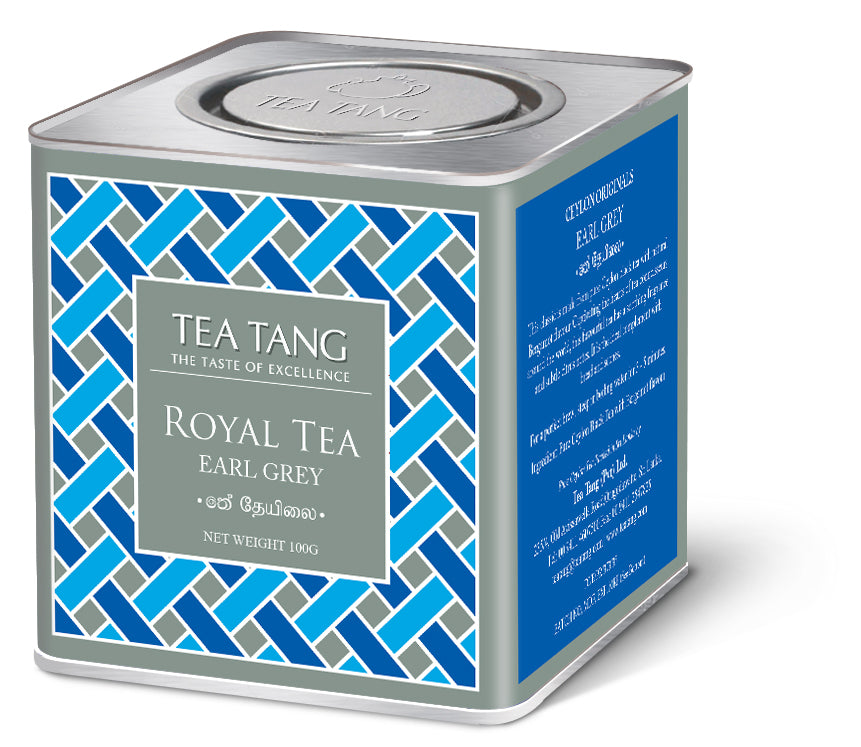 Earl Grey Tea 100g Can