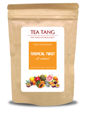 Tropical Twist 24x2g Pyramid Tea Bag