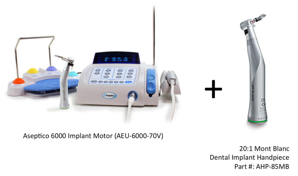 Aseptico Implant Motor 6000